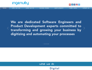 ingenuitytech.co screenshot