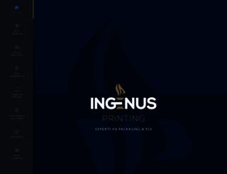 ingenusprinting.com screenshot
