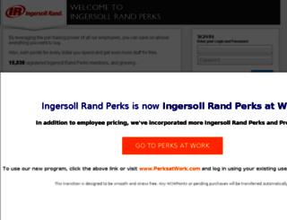 ingersollrand.corporateperks.com screenshot