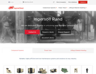 ingersollrandproducts.com screenshot