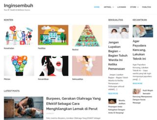 inginsembuh.com screenshot