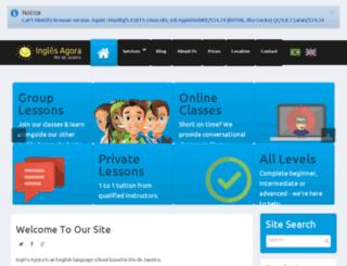 ingles-agora.com screenshot