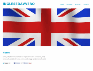 inglesedavvero.com screenshot