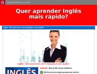 inglessozinho.com.br screenshot