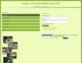ingo-holtz-gartenbau.de screenshot