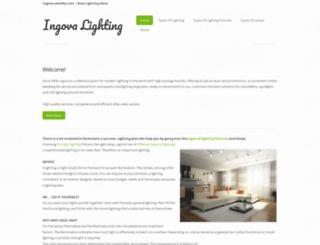 ingova.weebly.com screenshot