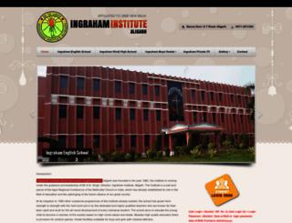 ingrahaminstitutealigarh.com screenshot