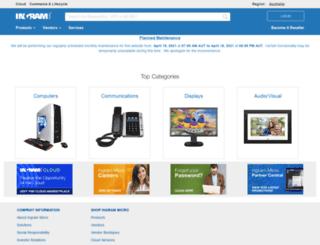 ingrammicro.com.au screenshot