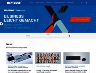 ingrammicro.de screenshot