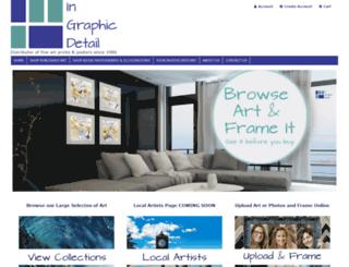 ingraphicdetail.ca screenshot