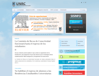 ingresantes.unrc.edu.ar screenshot