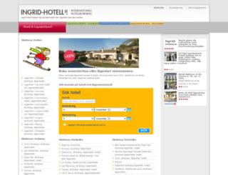 ingrid-hotell.se screenshot