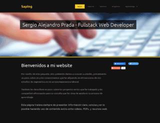 ingsystemas.webnode.es screenshot