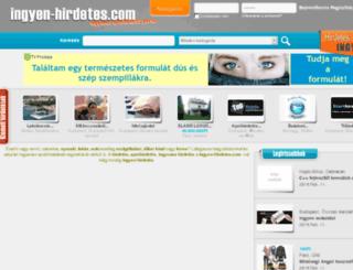 ingyen-hirdetes.com screenshot