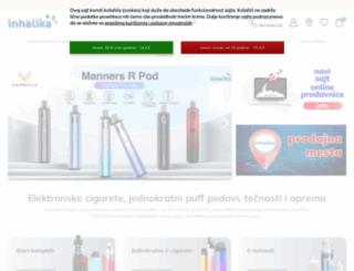 inhalika.com screenshot