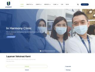 inharmonyclinic.com screenshot