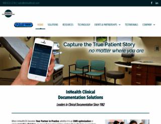 inhealthcds.com screenshot