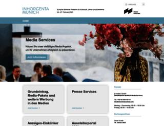 inhorgenta-mediaservices.com screenshot