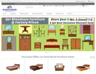 inhouzdecor.com screenshot