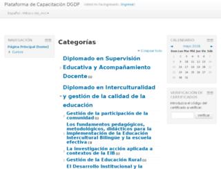 iniceformacionvirtual.hn screenshot