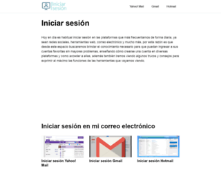 iniciarsesion.org screenshot