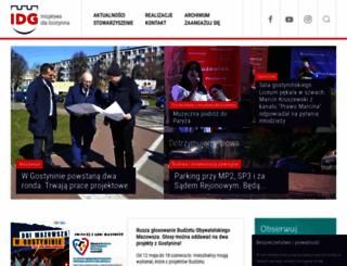 inicjatywadlagostynina.pl screenshot