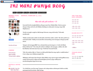 inihanipunyablog.blogspot.com screenshot