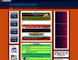 iniiklankamu.blogspot.com screenshot