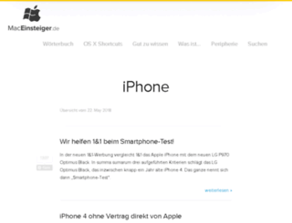 iniphone.de screenshot