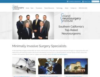 inisurgeons.com screenshot