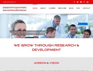 initial-health.com screenshot