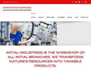 initial-industries.com screenshot
