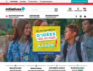 initiatives.fr screenshot