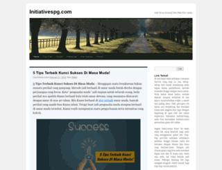 initiativespg.com screenshot
