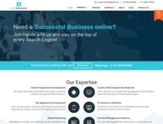 inizsolutions.com screenshot