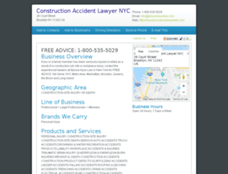 injuredconstructionworker.com screenshot