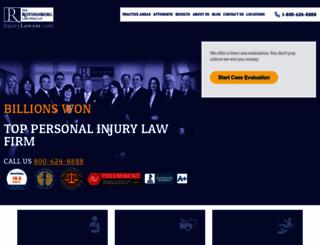injurylawyer.com screenshot