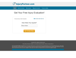 injurypartner.com screenshot