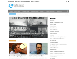 injustice-anywhere.org screenshot