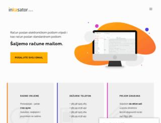 inkasator.hr screenshot
