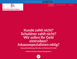 inkasso.fr screenshot