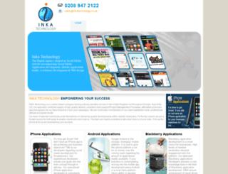 inkatechnology.co.uk screenshot