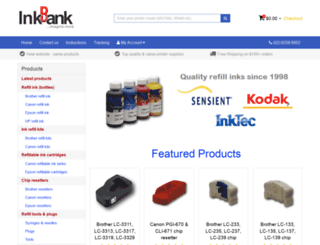 inkbank.com.au screenshot