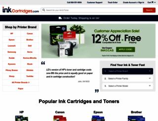 inkcartridges.com screenshot
