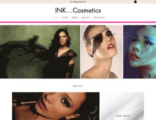 inkcosmetics.com screenshot