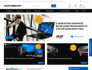 inkjetprinters.centralpoint.nl screenshot