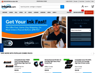 inkjets.com screenshot