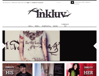 inkluvshop.com screenshot