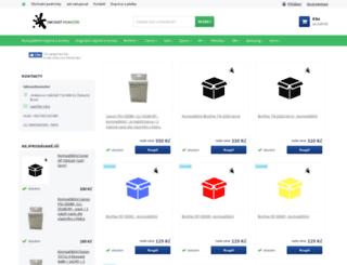 inkoustmonster.cz screenshot