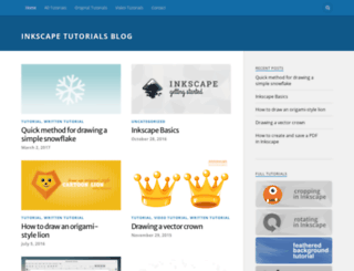 inkscapetutorials.wordpress.com screenshot